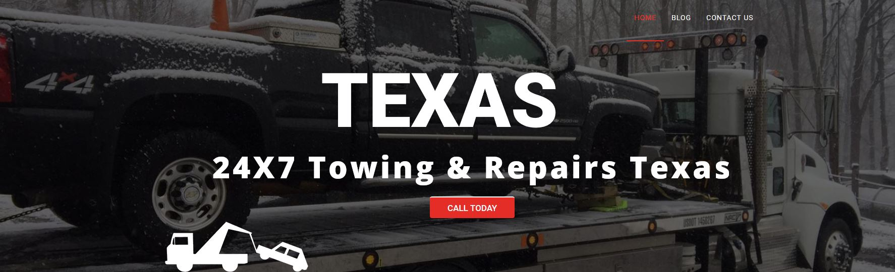 24 Hour Towing Service in Pasadena TX